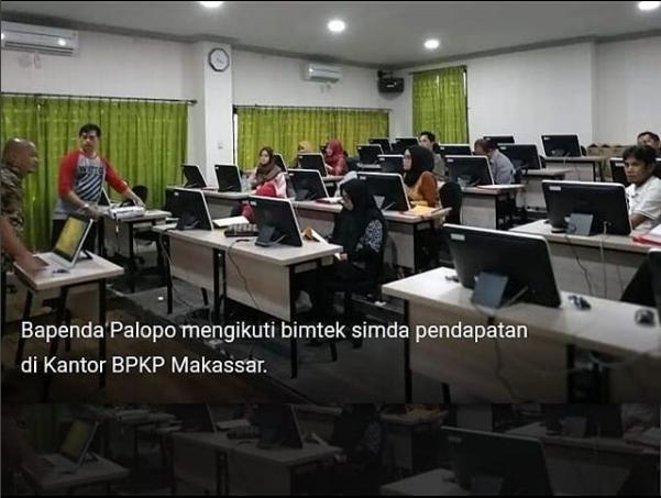 Bapenda Palopo Mulai Terapkan Aplikasi Simda Pendapatan