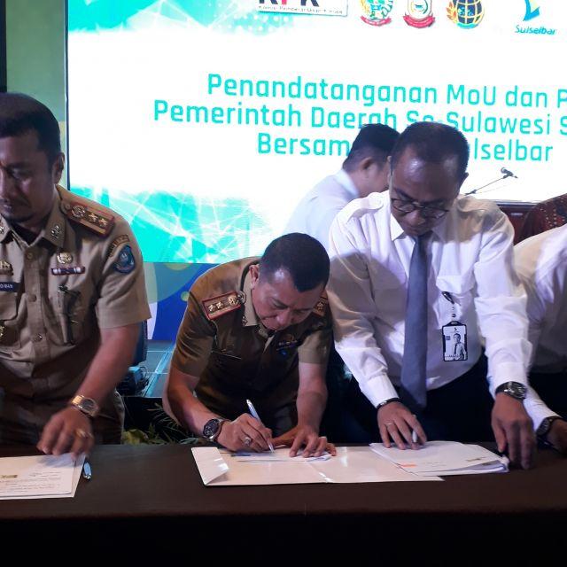 KPK Dorong Penertiban Aset Daerah dan Optimalisasi Pendapatan Daerah dDi Provinsi Sulawesi Selatan