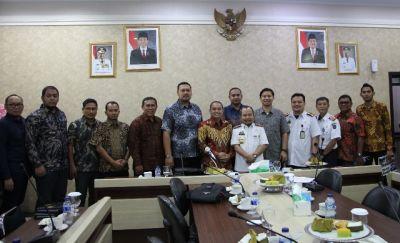 BPK Aceh Studi Banding di Bapenda Sulsel
